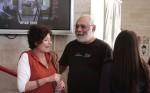המפיק מרק רוזנבאום ונילי המאירי. צילום: יוני המנחם.