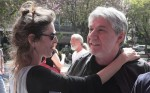 הבמאי אבי כהן והשחקנית-הצלמת איבון מיקלוש (מיכאלי). צילום: יוני המנחם.