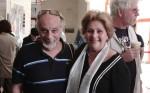 """דינה דורון ובעלה הבמאי אילן """"איוון"""" אלדד. צילום: יוני המנחם."""