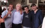 דני שטג, אפי עג'מי, אמנון סלומון וזאב רווח. צילום: יוני המנחם.