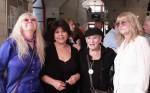 מימין לשמאל: רינה רמון, מרי הלן, גאולה נוני ותמי מור. צילום: יוני המנחם.