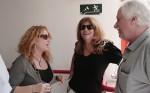 מימין לשמאל: כתריאל שחורי, יונה אליאן והעיתונאית שרית ישי. צילום: יוני המנחם.