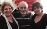 גאולה נוני, אילן אלדד ודינה דורון. צילום: יוני המנחם.