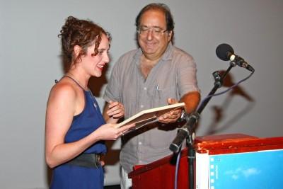 יעל טוקר זוכה בפרס תא המבקרים לשחקנית הטובה ביותר. צילום: גוסטבו הוכמן