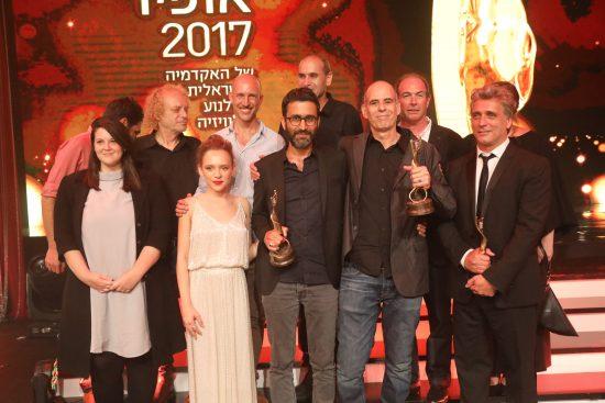 """""""פוקסטרוט"""" זוכה בפרס הסרט הטוב ביותר. צילום: רפי דלויה"""