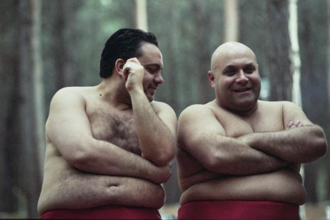 דביר בנדק (מימין) ואלון דהן, מתוך סיפור גדול | צילום: מאיר רגואן