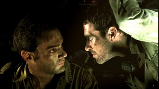 זהר שטראוס עם יואב דונט. מתוך לבנון. צילום: אליתיאל ציון
