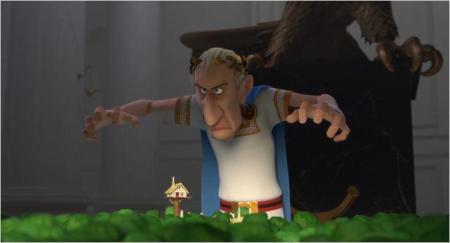 אסטריקס באחוזת האלים
