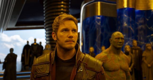 """""""שומרי הגלקסיה: חלק 2"""". כריס פראט."""