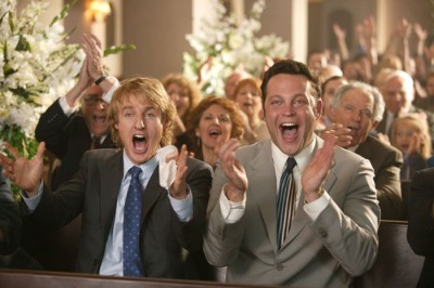 וינס ווהן (מימין) ואוון ווילסון. מתוך לדפוק חתונה.