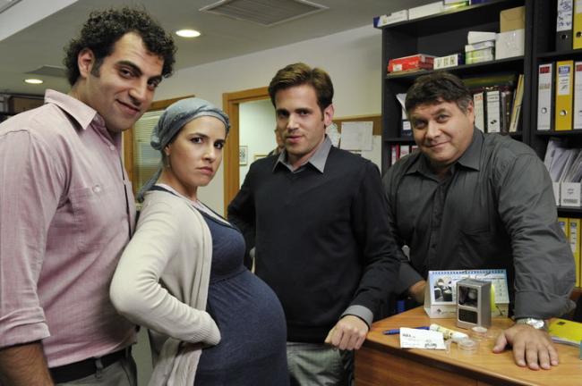 מימין לשמאל: דביר בנדק, אמיר וולף, איילת רובינסון, ג'מיל ח'ורי. מתוך המשרד ישראל.
