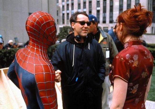 """""""ספיידר-מן 3"""". קירסטן דאנסט, סאם ריימי."""