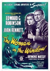 האישה בחלון - כרזה