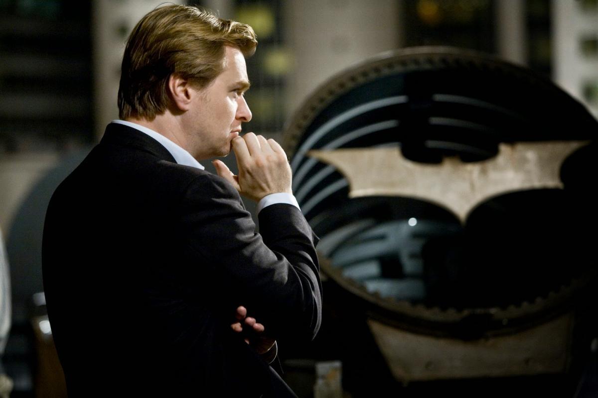 כריסטופר נולן על הסרט של באטמן: האביר האפל.