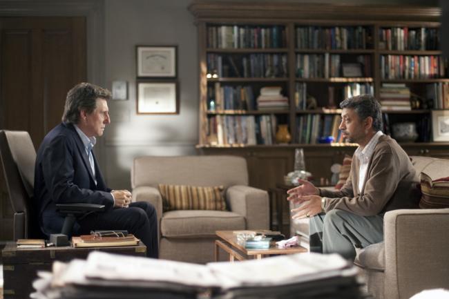 """""""בטיפול HBO"""". אירפאן חאן, גבריאל ביירן."""
