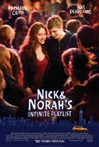 הלילה של ניק ונורה - כרזה