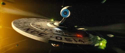 חללית האויב. מתוך סטארטרק.