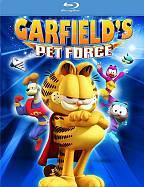 גארפילד וסיירת החיות 3D