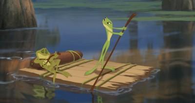 מתוך הנסיכה והצפרדע.