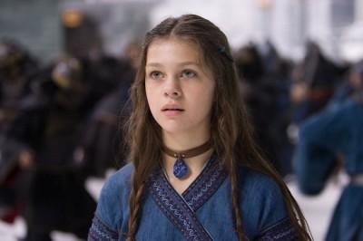 """תמונה של ניקולה פלץ מתוך """"איירבנדר: אווטאר - כשף האויר האחרון"""""""