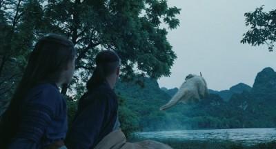"""תמונה של ג'קסון רת'בון מתוך """"איירבנדר: אווטאר - כשף האויר האחרון"""""""