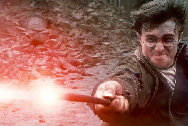 מתוך הארי פוטר ואוצרות המוות: חלק ראשון.