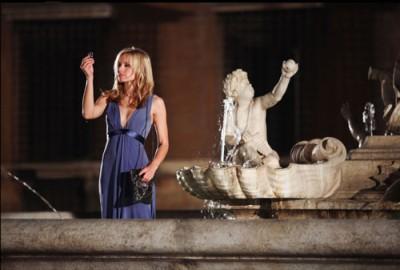 קריסטן בל. מתוך להתאהב ברומא.