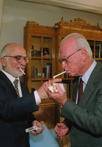 סיגריה אחרונה עם רבין - פוסטר