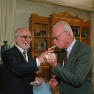 סיגריה אחרונה עם רבין