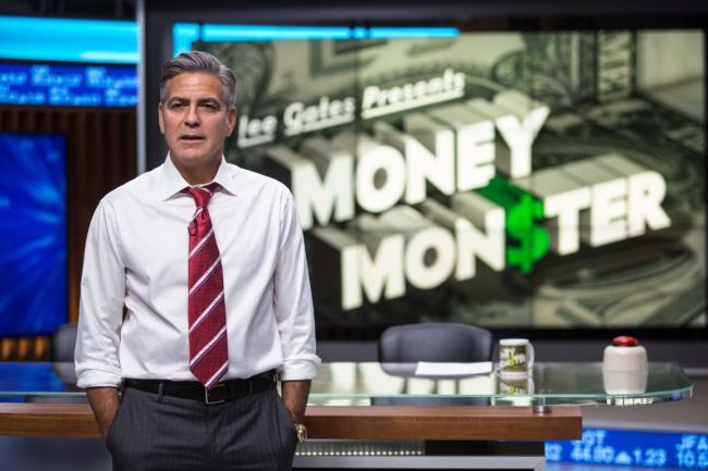 """""""מפלצת הכסף"""". ג'ורג' קלוני."""