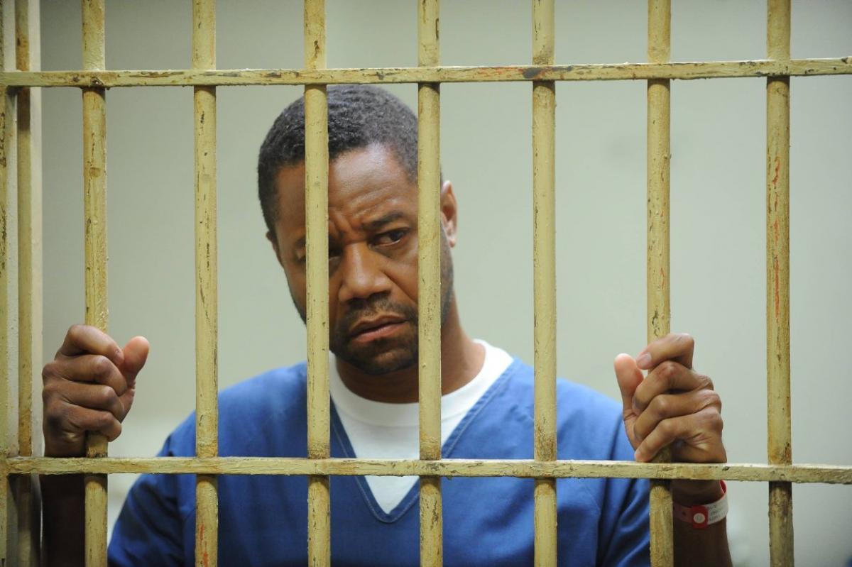 """תמונה של קובה גודינג ג'וניור מתוך """"סיפור פשע אמריקאי: הרצח של ג'יאני ורסאצ'ה"""""""