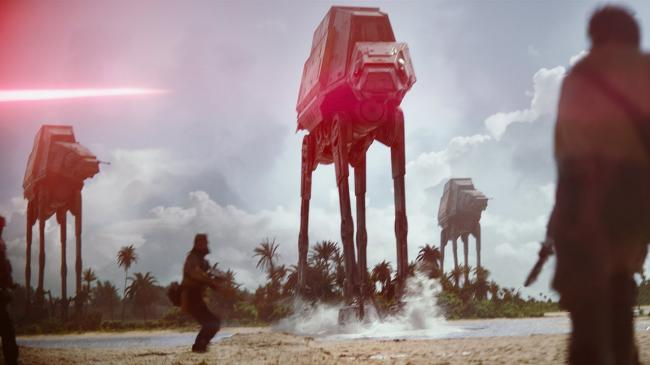 """""""רוג אחת: סיפור מלחמת הכוכבים""""."""