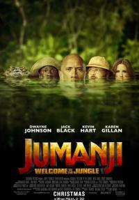 ג'ומנג'י: שורדים בג'ונגל - כרזה