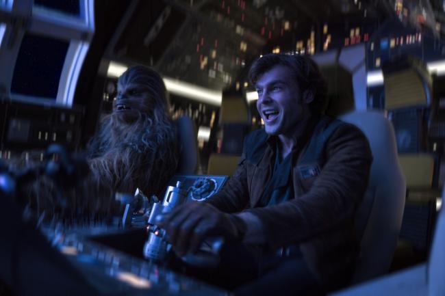 """""""סולו: סיפור מלחמת הכוכבים"""". אלדן ארנרייך."""