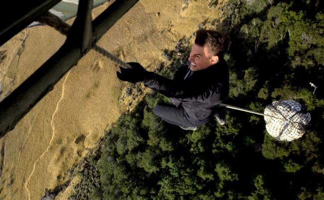 """""""משימה בלתי אפשרית 6: התרסקות"""". טום קרוז."""