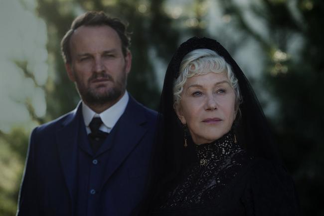 """""""ווינצ'סטר: הבית שרוחות רפאים בנו (ש.ל.ר)"""". הלן מירן, ג'ייסון קלארק."""