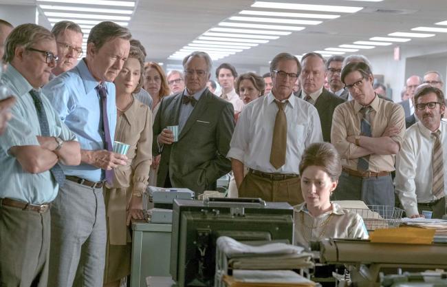"""""""העיתון"""". מריל סטריפ, טום הנקס."""