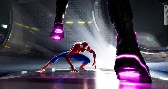 """""""ספיידרמן: מימד העכביש""""."""