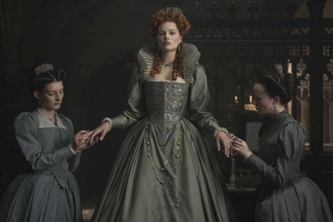 """""""מרי מלכת הסקוטים"""". מרגו רובי."""