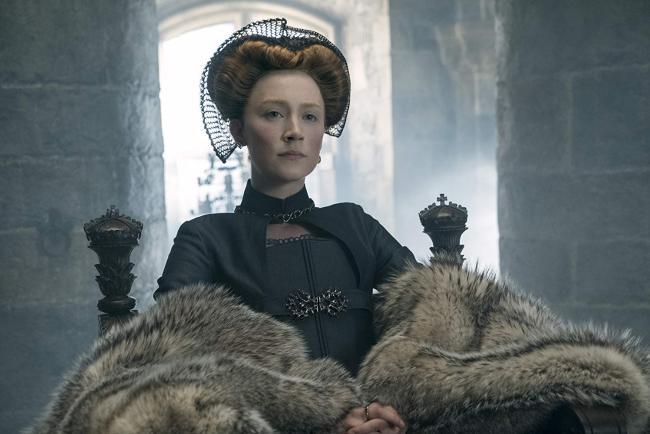 """""""מרי מלכת הסקוטים"""". סירשה רונאן."""