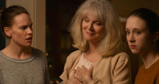 """""""אהבה כמו שלנו"""". טייסה פרמיגה, בליית' דאנר, הילארי סוואנק."""