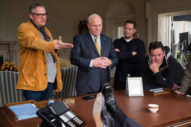 """""""סגן הנשיא"""". כריסטיאן בייל, אדם מקיי."""
