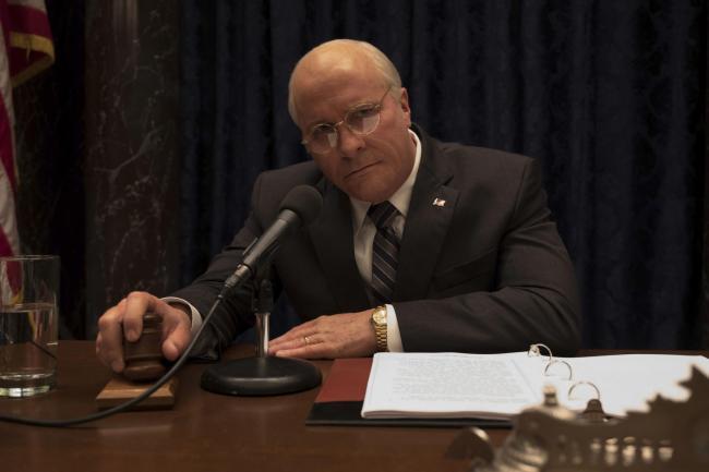 """""""סגן הנשיא"""". כריסטיאן בייל."""