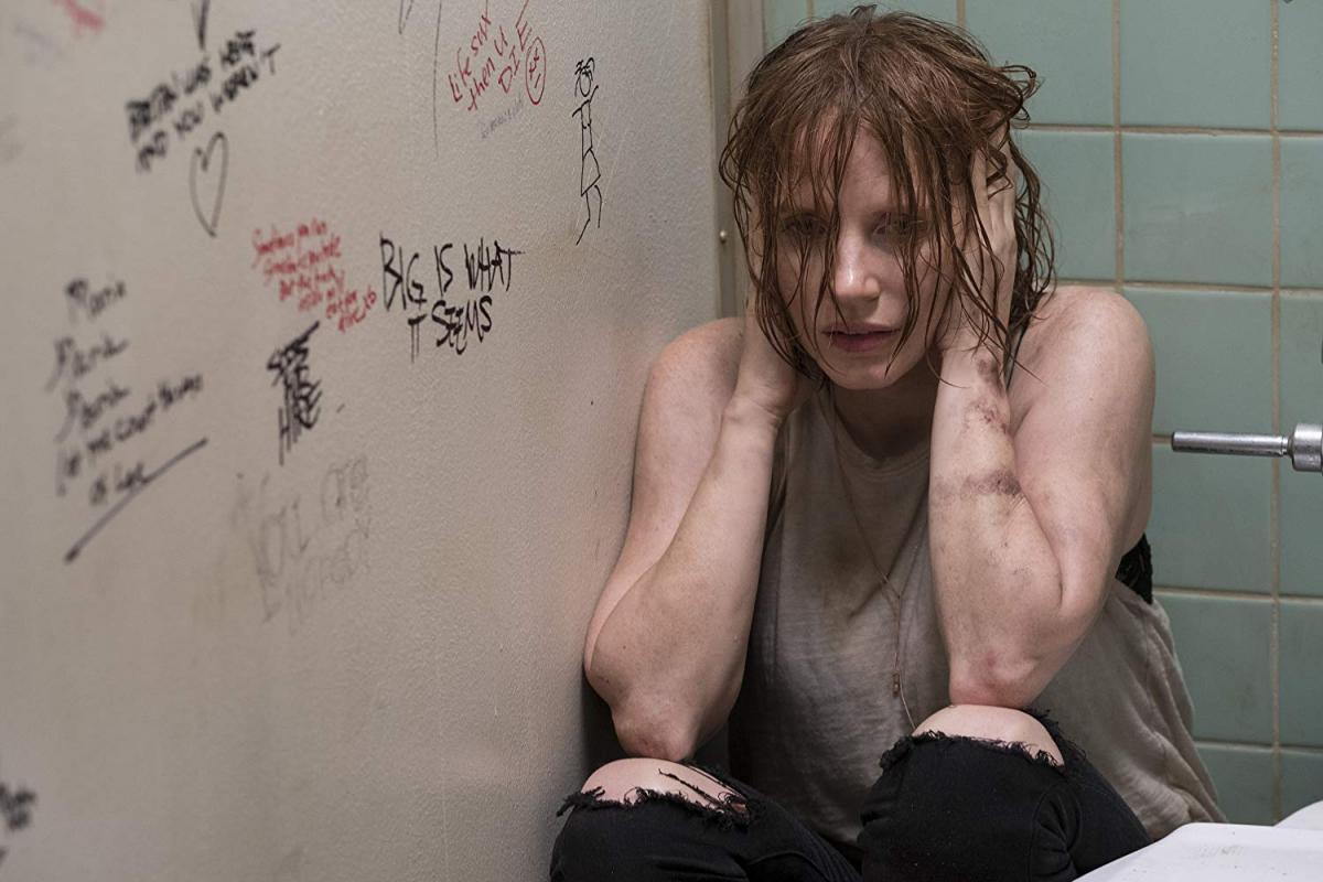 """תמונה של ג'סיקה צ'סטיין מתוך """"זה: חלק 2"""""""