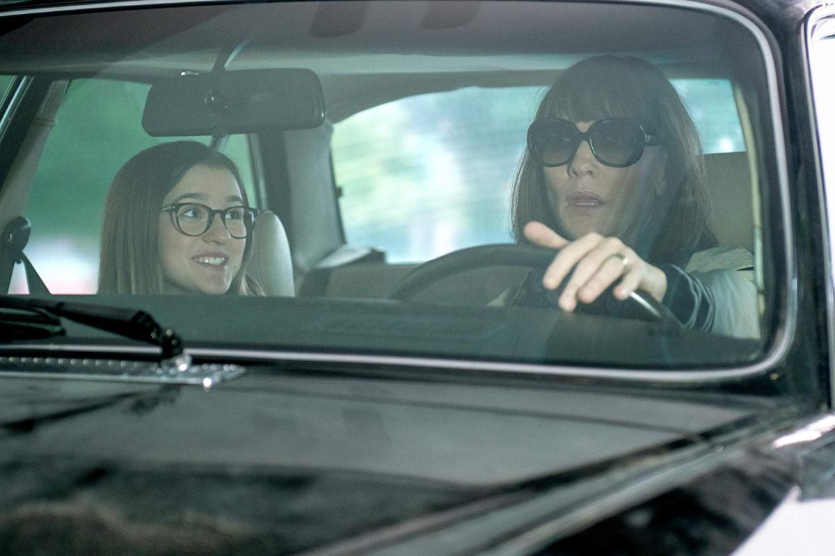 """תמונה של קייט בלאנשט עם אמה נלסון מתוך """"איפה את, ברנדט"""""""