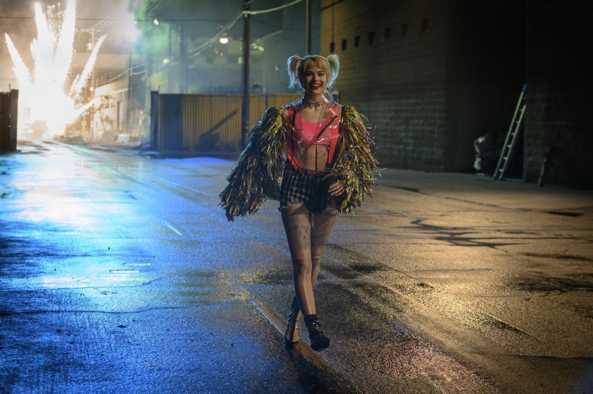 """תמונה של מרגו רובי מתוך """"ציפורי הטרף: והארלי קווין המהממת"""""""