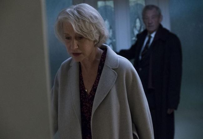 """""""השקרן הטוב"""". איאן מק'קלן, הלן מירן."""