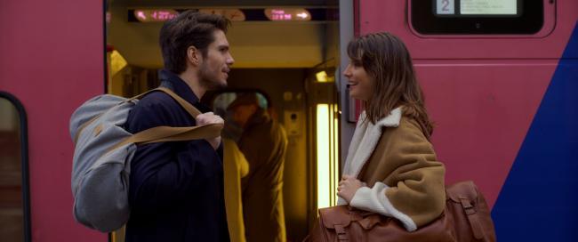 """""""אהבה ממבט שני"""". ז'וזפין ז'אפי, פרנסואה סיביל."""