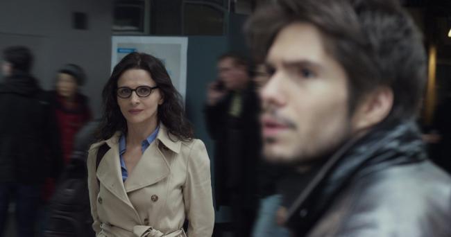 """""""מי אתה חושב שאני?"""". פרנסואה סיביל, ז'ולייט בינוש."""