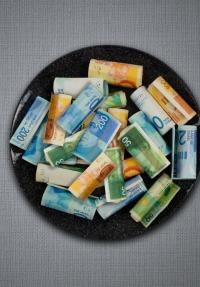 הפוליטיקה של האוכל: הון, שלטון, מזון - כרזה